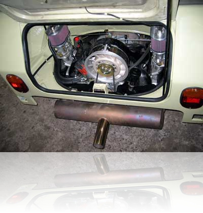 181er, der Motor ist drin